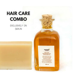 NEEMLI HAIR CARE COMBO- JOJOBA SHAMPOO BAR- HAIRLOSS PREVENTION WITH PRIME ROSE OIL