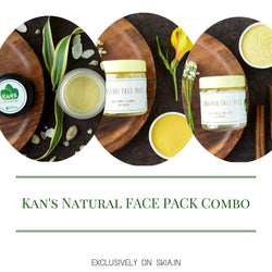 KAN'S NATURAL FACE PACK COMBO