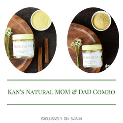 KAN'S NATURAL HIM & HER FACE PACK COMBO
