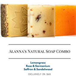 ALANNA'S NATURAL SOAP COMBO