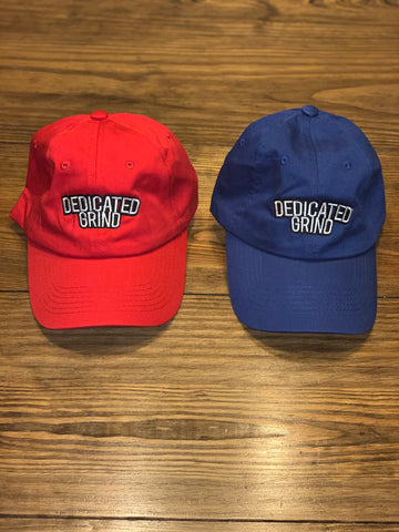 "Dedicated Grind ""Classic"" Dad Hats"