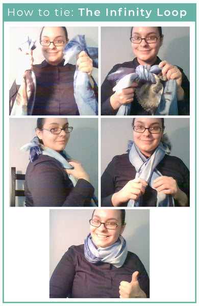 How to tie your scarf: The Infinity Loop