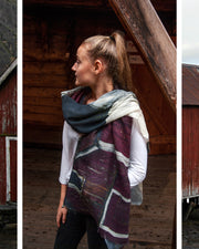 Boathouse Wool and Silk Scarf