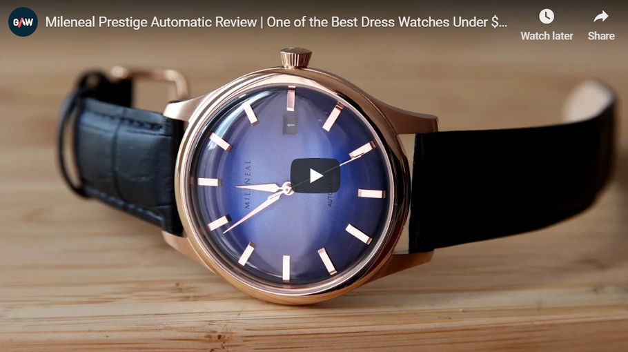 "Review By Great Affordable Watches | ""One of the Best Dress Watches Under $200!"""