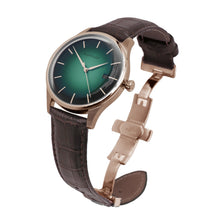 Prestige Aurora Green Automatic Rose Gold