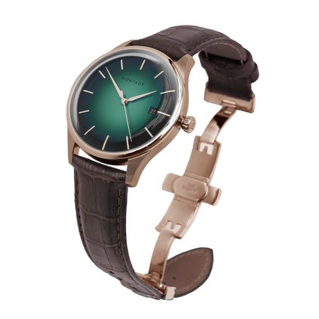 Prestige Aurora Green Automatic Rose Gold [Pre-order]