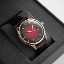 Prestige Autumn Red Automatic Rose Gold