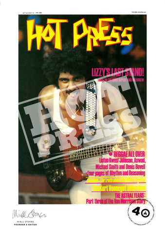 Volume 07 Issue 06  Phil Lynott Commemorative Print