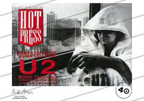 Volume 17 Issue 10 U2 Commemorative Print
