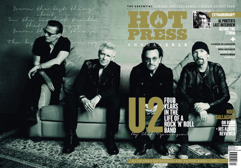 Hot Press 41-22: 2018 Annual U2 Published December 2017