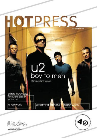 Volume 24 Issue 21 U2 Commemorative Print
