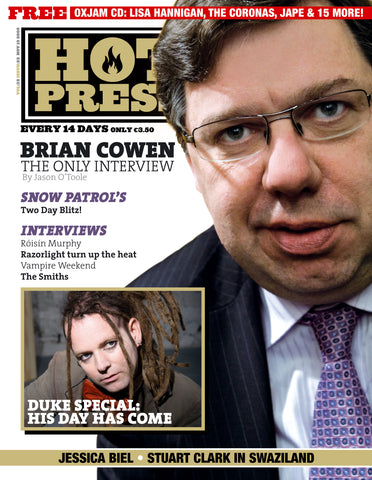 Hot Press 32-22: Brian Cowen