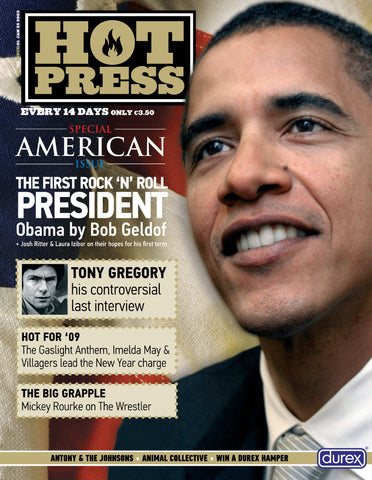 Hot Press 33-01: Barack Obama