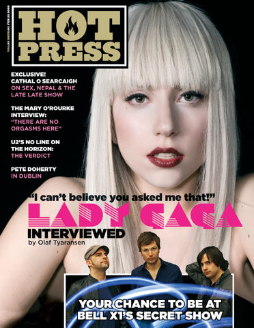 Hot Press 33-03: Lady Gaga