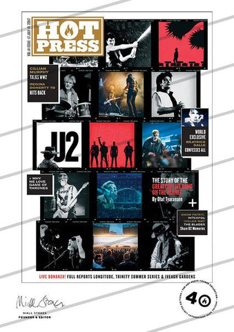 Volume 41 Issue 12 U2 Commemorative Print