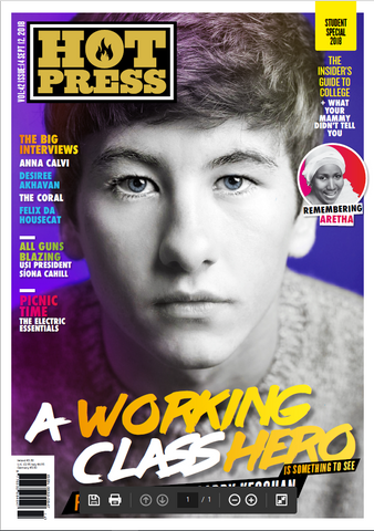 Hot Press 42-14: Barry Keoghan Student Special