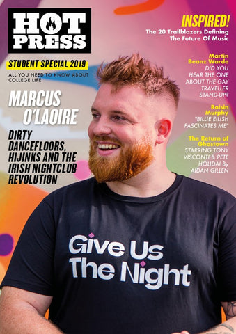 Hot Press 43-14: Marcus O'Laoire