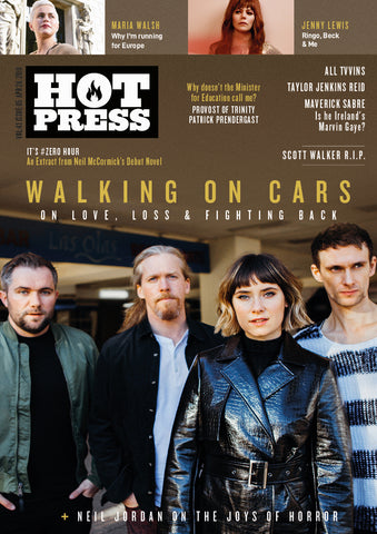 Hot Press 43-05: Walking On Cars