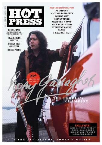 Rory Gallagher: 25th Anniversary Special Hot Press 44-07