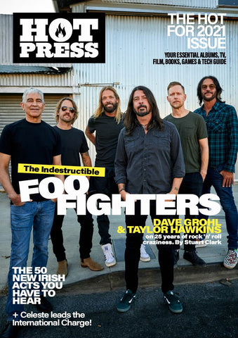 Hot Press 45-01: The Indestructible Foo Fighters! (Flip Cover Special)