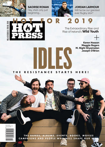 Hot Press 43-01: Idles Cover