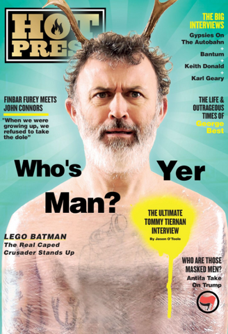 Hot Press 41-03: Tommy Tiernan