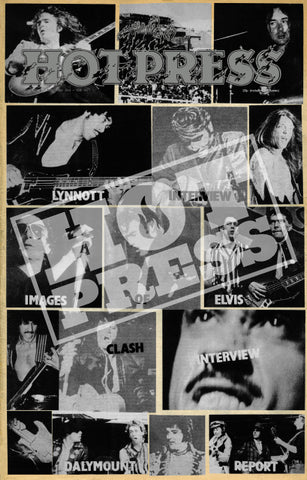 Volume 01 Issue 07 Thin Lizzy Commemorative Print