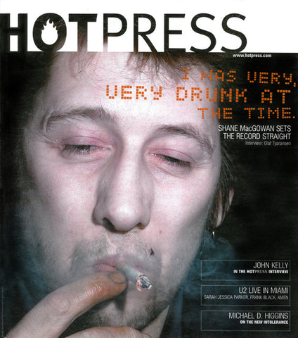 Hot Press 25-06: Shane MacGowan