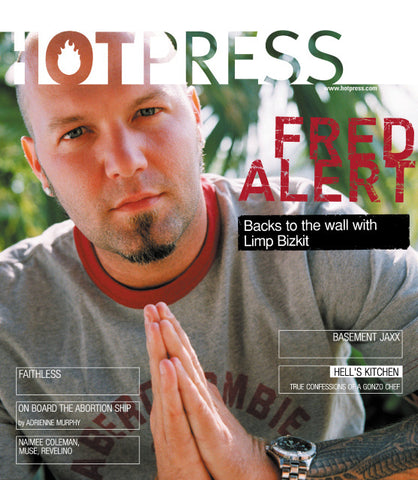 Hot Press 25-12: Limp Bizkit