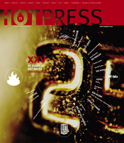 Hot Press 26-12: 25th Anniversary