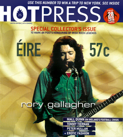 Hot Press 26-21: Rory Gallagher