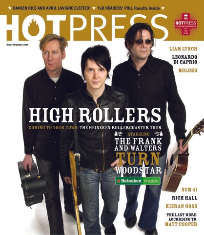 Hot Press 27-02: Heineken Rollercoaster Tour