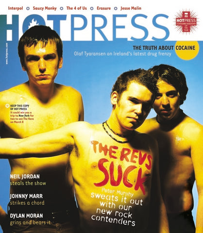 Hot Press 27-04: The Revs