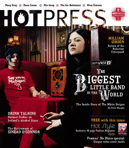 Hot Press 27-09: White Stripes