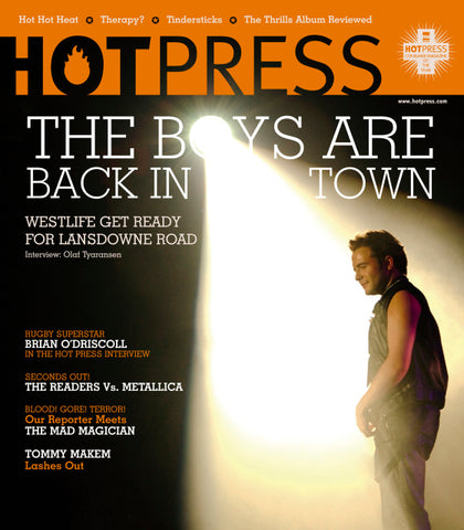 Hot Press 27-12: Westlife