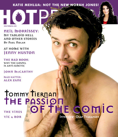 Hot Press 28-05: Tommy Tiernan