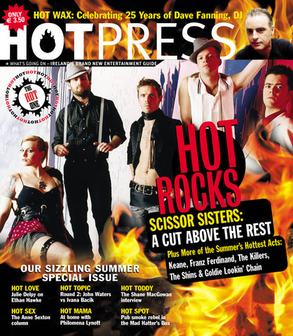Hot Press 28-15: Scissor Sisters