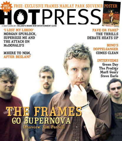 Hot Press 28-18: The Frames