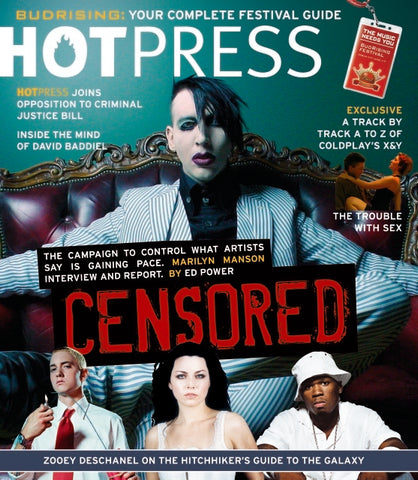 Hot Press 29-09: Marilyn Manson