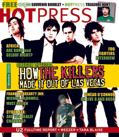 Hot Press 29-13: The Killers