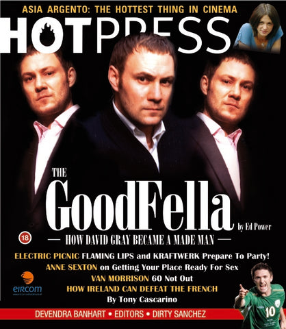 Hot Press 29-17: David Gray