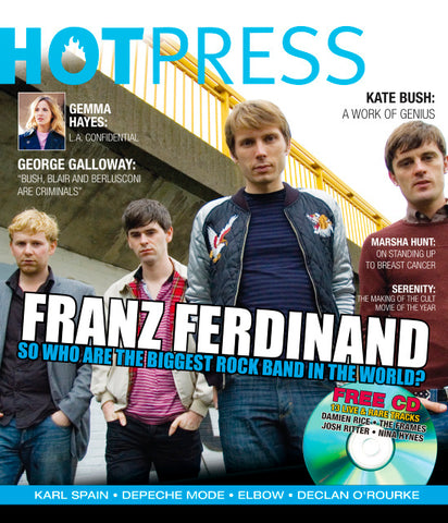 Hot Press 29-21: Franz Ferdinand