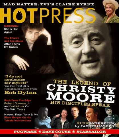 Hot Press 29-22: Christy Moore