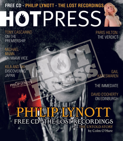 Volume 30 Issue 16 Philip Lynott Commemorative Print