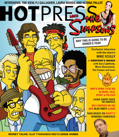 Hot Press 31-01: The Simpsons