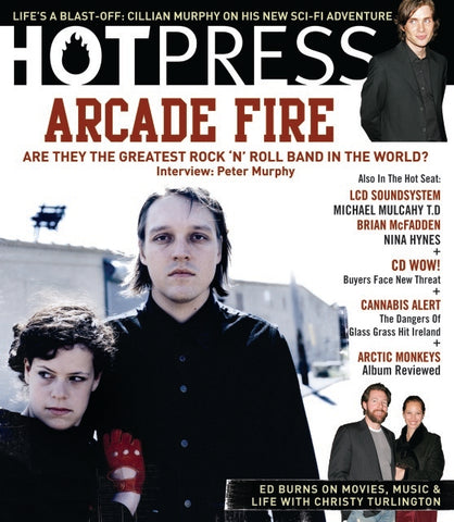 Hot Press 31-07: Arcade Fire