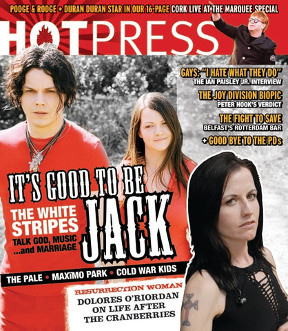 Hot Press 31-11: White Stripes