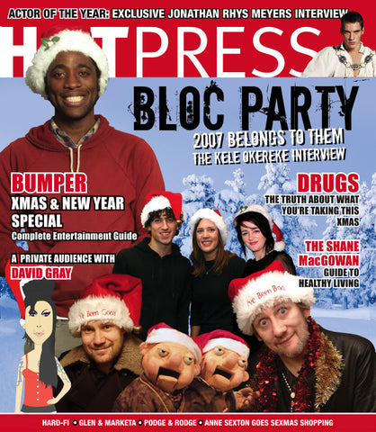 Hot Press 31-24: Xmas Issue