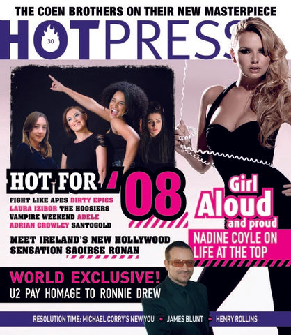 Hot Press 32-01: Girls Aloud