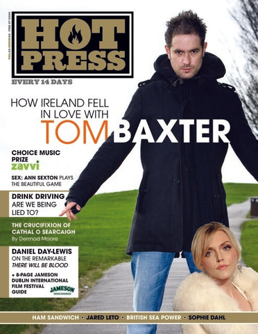 Hot Press 32-03: Tom Baxter